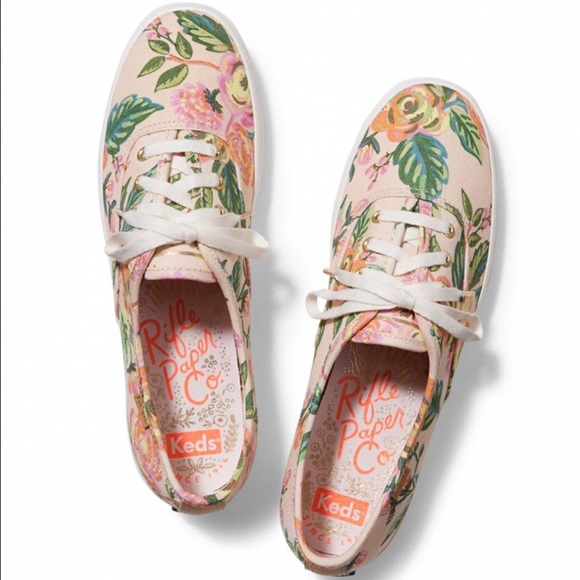 6c1e9a1ce58 Keds Shoes - Keds x Rifle Paper Co. Champion Sneakers